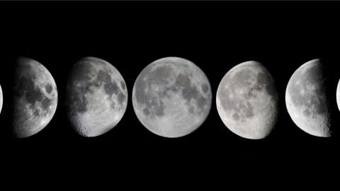 8 Faces of the Goddess, 8 Phases of the Moon