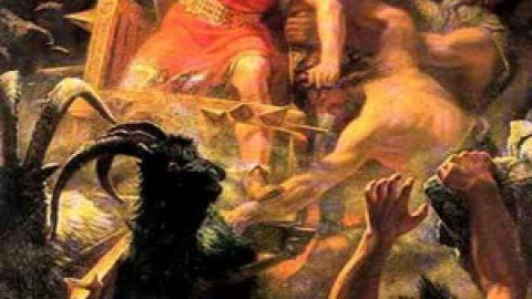 Odin Kills Ymir