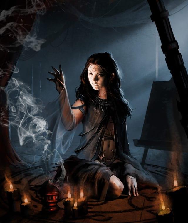 Witchcraft Art Paganism wicca w.