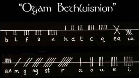 Ogham Alphabet