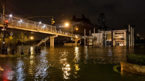 Power returning after Sandy but weariness grows