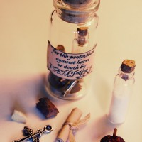 witches bottle