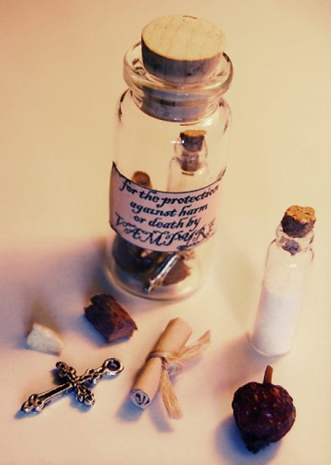 Witches Bottle Spell for Protection