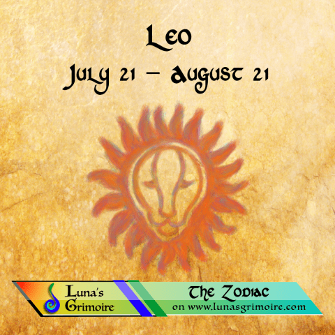Leo (July 21 – August 21)