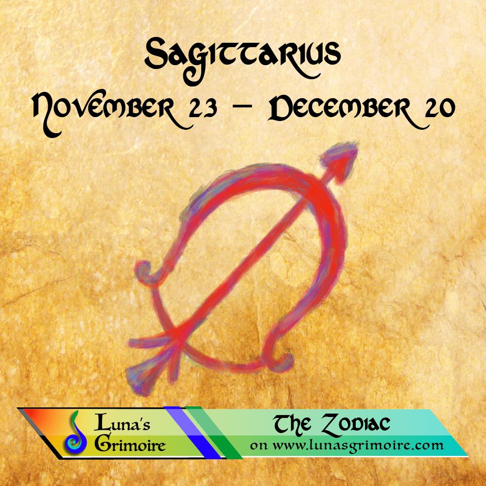 Sagittarius Decans