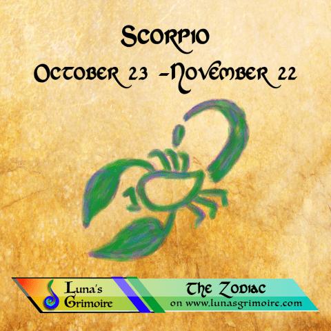 Scorpio (October 23 – November 22)