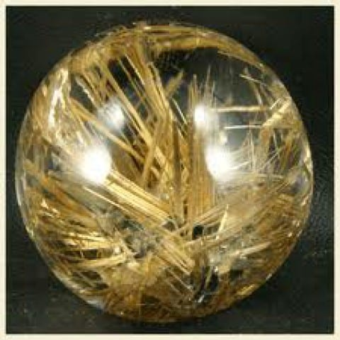 Quartz, Rutilated