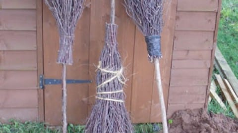 Making A Besom