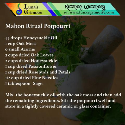 Mabon Ritual Potpourri