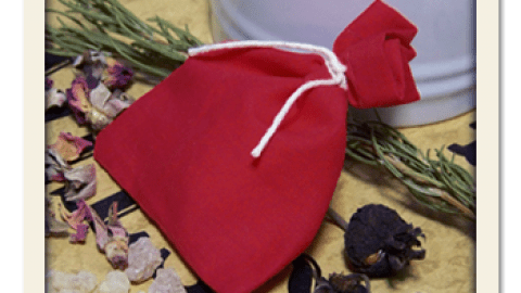 Spicy Rose Sachet