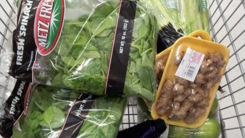 Shopping Carts… On a Healthy Diet and NOT on a Healthy Diet