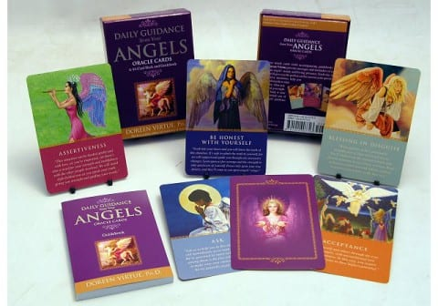 Doing an Angel Card Reading