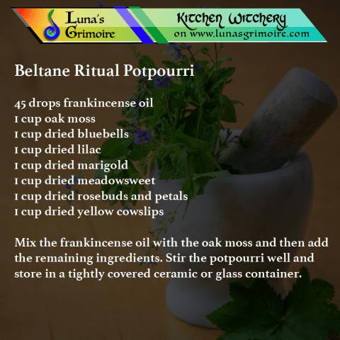 Beltane Ritual Potpourri